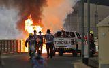 Formula 1, accident teribil! Maşina lui Romain Grosjean s-a rupt în două şi a luat foc în Bahrein FOTO şi VIDEO
