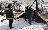 Stâna de pe Transalpina, distrusă în urma unui incendiu. Şeful de la Investigaţii Criminale conduce ancheta