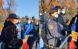 Manifestații de Ziua Națională a României. Protestatarii încearcă să participe la ceremonia de la Arcul de Triumf