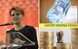 Lia Olguţa Vasilescu, veste proastă pentru 3 milioane de pensionari