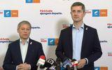 """USR şi PLUS pe un butoi de pulbere, pe tema ieşirii de la guvernare! Cioloş îi vrea """"capul"""" lui Cîţu! – SURSE"""