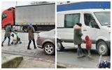 Imagini revoltătoare! Copil umilit și bătut pe stradă fiindcă nu a strâns destui bani din cerșit