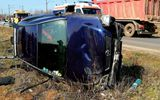 Tragedie în Caracal! Femeie de 48 de ani moartă în accident. Alte victime, printre care un bebeluș, duse de urgență la spital