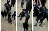 Bărbat încătuşat de jandarmi la metrou Piaţa Unirii pentru că nu purta mască VIDEO