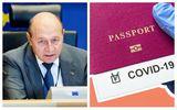 """Paşaport de vaccinare. Traian Băsescu: """"Este un element de simplificare, nu de complicare a lucrurilor"""""""