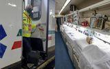 Primul tren ATI-COVID din lume! Cum poate ajuta la diminuarea presiunii din spitale