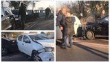 Accident pe Podul Fundeni. Şase maşini s-au ciocnit
