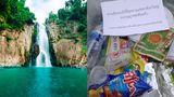 Soluție incredibilă găsită de autorități! Locul în care turiștii care aruncă gunoiul pe jos îl primesc înapoi prin poștă