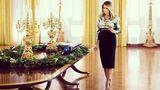 Ultimul Crăciun la Casa Albă pentru familia Trump. Ce temă pentru decoraţiuni a ales Prima Doamnă, Melania