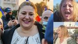"""Diana Șoșoacă a protestat în Piața Victoriei: """" O să mori oricum, acum depinde cum. Mori demn sau prost"""