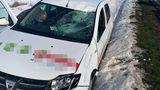 Scene șocante în județul Teleorman. Un șofer de TIR a fost aruncat în fața unei mașini, după o ceartă în trafic