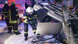 Accident cu urmări tragice în Teleorman. O şoferiţă din Bucureşti s-a răsturnat cu maşina, mama acesteia a murit pe loc FOTO