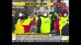 Protest în faţa Palatului Cotroceni. Sindicaliştii din învățământ, sănătate și poliție cer salarii şi pensii mai mari