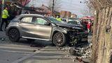 Şoferiţa care a accidentat mortal două fete în cartierul Andronache după ce a condus beată a fost reţinută