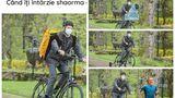 Cele mai bune glume cu Klaus Iohannis mergând cu bicicleta la Cotroceni. De la Firea, Glovo la salvarea lui E.T