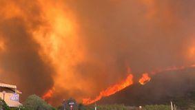 S-a dezlănțuit IADUL pe pământ. Flăcările nu pot fi stinse. Imagini cutremurătoare dintr-un loc preferat de români