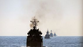 Nave de război rusești în Canalul Mânecii. Marina Regală Britanică a intrat în alertă