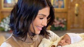 Bucurie uriașă pentru Ilinca Vandici! Azi a avut loc botezul bebelușului surorii celebrei prezentatoare TV. Imagini exclusive