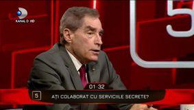 A colaborat Petre Roman cu Serviciile Secrete? Răspunsul care a uimit-o pe Denise Rifai