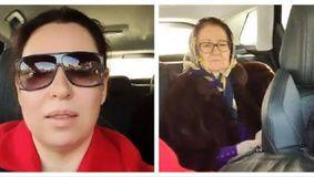 Primele imagini cu mama Oanei Roman după operație! A fost luată la spital de către fiicele sale! / VIDEO