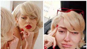 Lidia Buble, în lacrimi în fața fanilor! Cântăreața a fost copleșită de tristețe / VIDEO