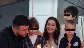 Gabi Bădălău și Claudia Pătrășcanu, împreună de dragul copiilor! S-au afișat ca o familie, deși sunt în plin scandal!