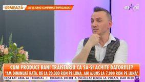 """Ce sumă uriașă de bani plătește Mihai Trăistariu lunar pentru a-și achita datoriile: """"Am fost în depresie"""" / VIDEO"""