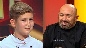 """""""Încă nu v-ați găsit pe nimeni, tot singur?"""" Robert Vesea, copilul de 10 ani care l-a uimit pe Cătălin Scărlătescu la Chefi la cuțite / VIDEO"""