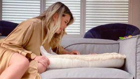 Gina Pistol i-a arătat, în sfârșit, fața fiicei sale. Imaginea emoționantă postată de prezentatoarea de la Chefi la cuțite