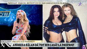 """Andreea Bălan, destăinuri din vremea copilăriei, la Xtra Night Show. Artista fugea des de acasă: """"Venea după mine"""" / VIDEO"""