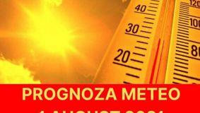 Prognoza meteo ANM pentru duminica, 1 august 2021: Cod Portocaliu de CANICULA! Iata unde se va atinge temperatura extrema de 41 de grade Celsius!