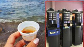 Incredibil! Câți lei costă o cafea de la aparat, în Mamaia! În București e 2 lei, dar la mare prețul e bulversant