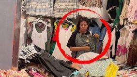 Am prins-o! Oana Roman își cumpără așa-zisele 'rochii de firmă' de la tarabă, la periferia Bucureștiului