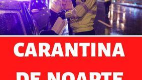 E oficial! Carantina de NOAPTE in Romania! Incepe de azi!
