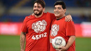 Fiul lui Maradona a primit vestea morţii tatălui în spital, unde era tratat de Covid 19