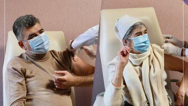 Marcel Ciolacu: Astăzi m-am vaccinat, dar după mama mea