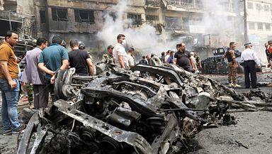 Gruparea teroristă Stat Islamic a revendicat dublul atentat din Irak