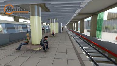 Încep lucrările la staţia de metrou de pe Şoseaua Berceni. Traficul va fi restricţionat mai bine de o lună VIDEO