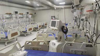 Revoltă la Leţcani. Pacienţii cu COVID din spital, scoşi în ger şi puşi în ambulanţe din cauza lipsei de curent