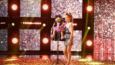 Românii au talent sezonul 11. Cine este Ana-Maria Mărgean, copilul-minune care a reuşit să ia al şaselea Golden Buzz. Andra: Eşti de aur!