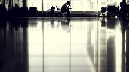 Numărul de pasageri de pe aeroportul Henri Coandă, la cel mai mic nivel de după lockdown