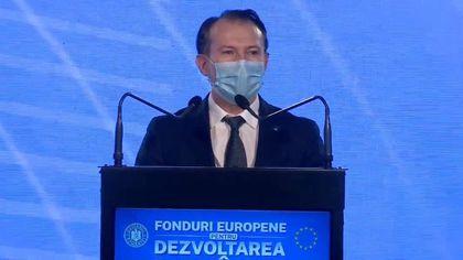 """Florin Cîţu, la prezentarea Planului de Redresare şi Rezilienţă. """"Vremea râurilor de lapte şi miere care curg din robinetele pesediştilor a luat sfârşit"""""""