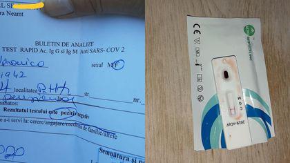Experiența unei femei într-o clinică din Piatra Neamț. A fost confirmată cu COVID, deși testul arăta un rezultat negativ
