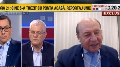 Traian Băsescu: Măsurile nu sunt suficiente ca să stăvilească boala. Realitatea nivelului de imbolnavire e ascunsă
