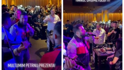 Tzancă Uraganu, CHEF MONSTRU în Bucureşti înainte de noile restricţii. Sute de persoane au petrecut într-un restaurant din Capitală VIDEO