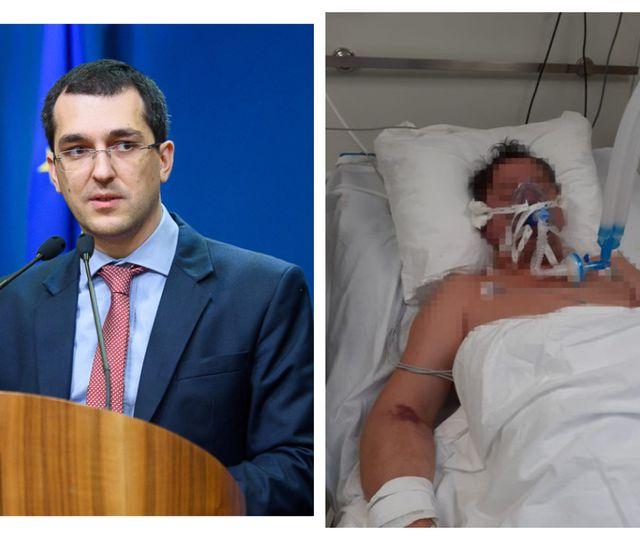 """Vlad Voiculescu trimite Corpul de Control la Spitalul din Sibiu, după dezvăluirile despre situaţia de la ATI: """"Este absolut şocant"""""""